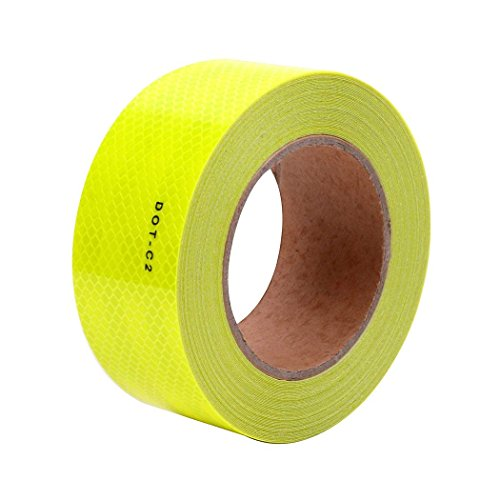 Fluorescent Yellow DOT-C2 Conspicuity Reflective Tape - 2