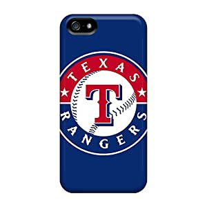 Iphone 5/5s JqQ20008ThcP Allow Personal Design Lifelike Texas Rangers Series Protective Cell-phone Hard Covers -LauraFuchs