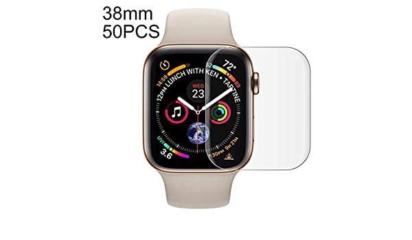GzPuluz SmartWatch película de Pantalla 50 PCS para Apple Watch ...