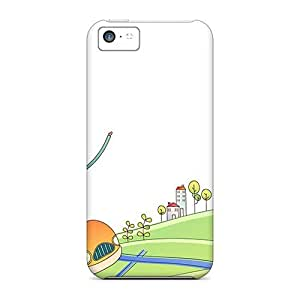 New Fashionable MDCH CpC338CTHj Cover Case Specially Made For Iphone 5c(park Of The Fun)