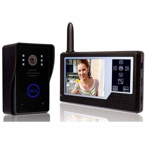 """ALEKO LM163 3.5"""" Display Intercom Wireless Video Door Phone"""