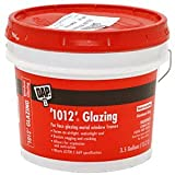 CRL 3.5 Gallon Dap Gray Metal Sash Putty