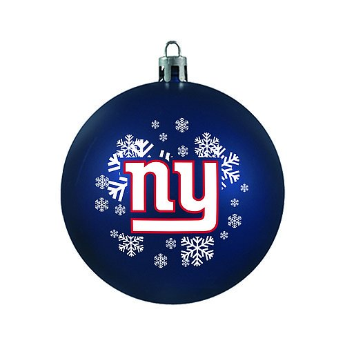 New York Giants Ornament - Shatterproof Ball - NFL Licensed Product