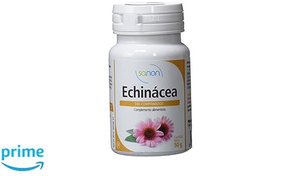 SANON - SANON Echinácea 100 comprimidos de 500 mg: Amazon.es: Salud y cuidado personal