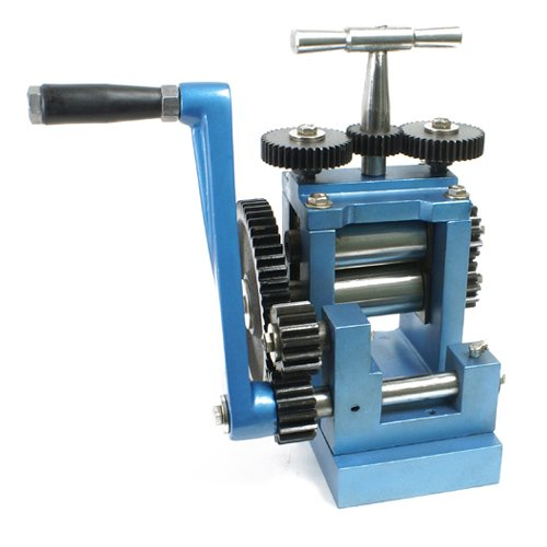 Compact Rolling Mill Basic 80mm With 2 Flat Rolls - SFC Tools - 28-281