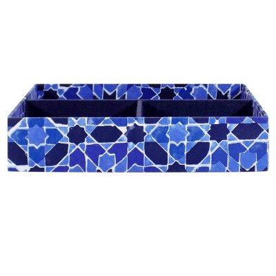 SOHO Square Tray Chambray Blue by Soho