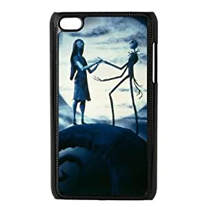 Nightmare Before Christmas iPod Touch 4 Case Black Tnots