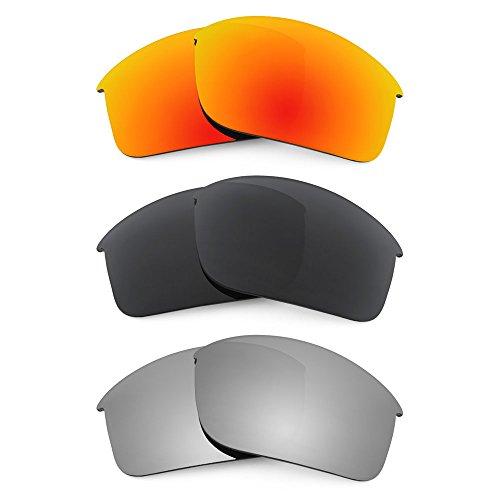 Revant Replacement Lenses for Oakley Bottle Rocket Polarized 3 Pair Combo Pack P16