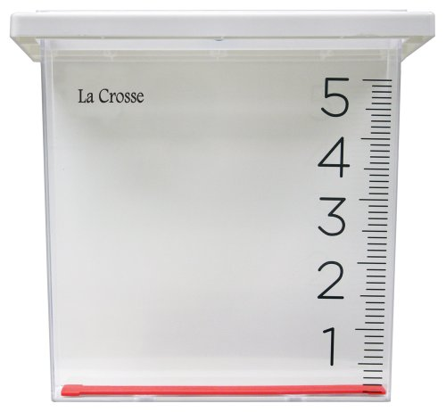 La Crosse Technology 705-109 Waterfall Rain Gauge (Measure Rain Gauges Rainfall)