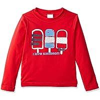 Camiseta Manga Longa Proteção Solar Surfista Navy, TipTop, Criança Unissex