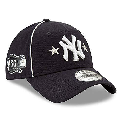 New Era Men's New York Yankees Navy 2019 MLB All-Star Game 9TWENTY Adjustable Hat (Best Mlb Hats 2019)