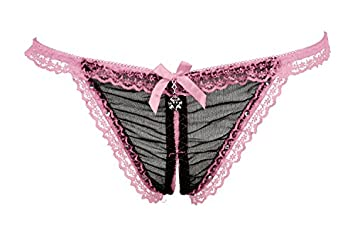 ZL de zzfoffene Ropa Interior femenina puntas Diamond Perspectiva Sexy String Extreme Tentación Ropa Interior bajo