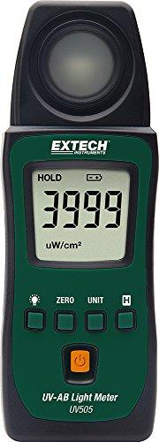 Extech UV505 Pocket UV-Ab Light Meter (Ultra Violet Meter)