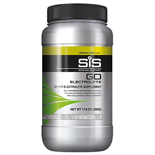 Science in Sport Go Electrolyte Energy Drink Powder | Lemon & Lime Flavor Sports Performance & Endurace Supplement - 1.25 Pound by Science in Sport