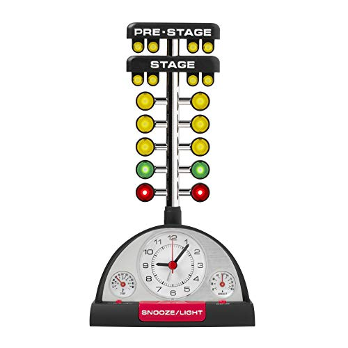 Drag Racing Alarm Clock (Tree Christmas Drag)