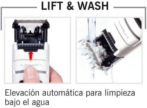 Solac Lift & Wash CP7322 - Cortapelos con y sin cable lavable ...