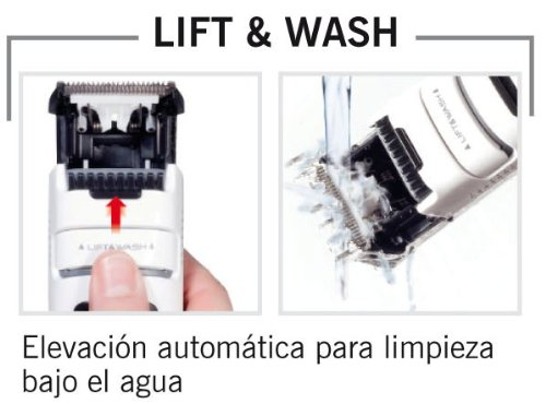 Solac Lift   Wash CP7322 - Cortapelos con y sin cable lavable ... 187172b8d8