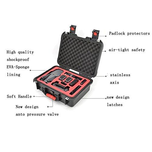 Carring Case Bag, Leewa Polypropylene + Waterproof Hard Shell Suitcase, Storage Box Bag For DJI Mavic Pro Drone by Leewa (Image #2)