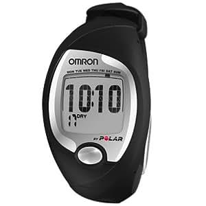 Omron HR-P1 - Monitor de ritmo cardíaco, color negro