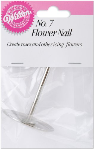 Wilton W4023007 Flower Nail for Icing, 1.5-Inch, No.7