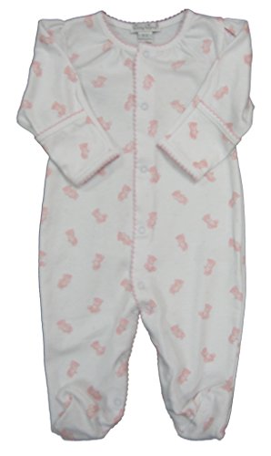 kissy-kissy-baby-girls-infant-tiny-teddy-print-footie