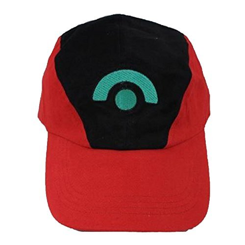 TinyBox Ash Ketchum Hat Cap Set for Adult 3 Styles ()