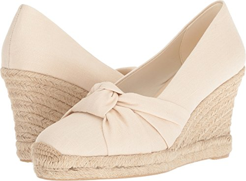 Soludos Women's Knotted Pump Wedge Blush, 9.5 Regular US