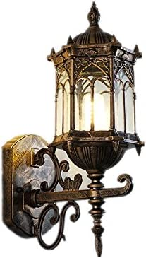 Black Industrial Outdoor Wall Lamp Retro Light Vintage Waterproof Wall Sconce