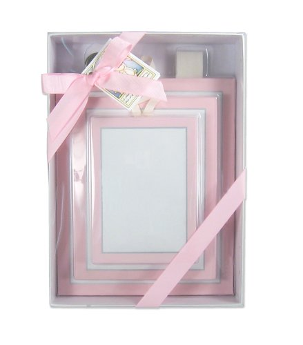 Child to Cherish Canvas Family Frames in Pink (Discontinued by Manufacturer)