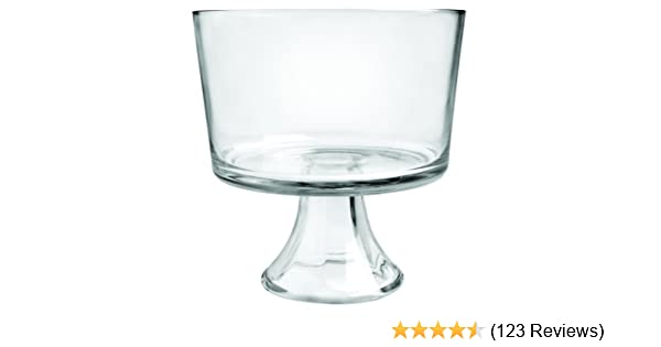 Amazon anchor hocking presence trifle footed dessert bowl