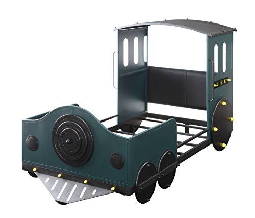 ACME Furniture 37505T Tobi Twin Bed, Green Train