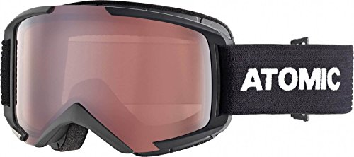 Atomic, All Mountain-Skibrille, Unisex, Medium Fit, Live Fit-Rahmen, Savor M Schwarz