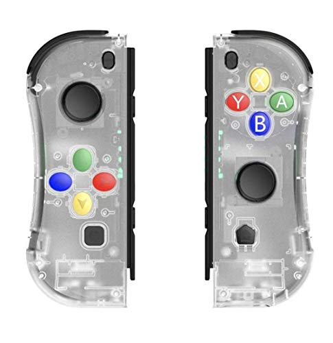 Switch Wireless Controller Joypads Chasdi. Pair of Remote Motion Controllers with Micro USB Charging Cable & Joy-Con… 1