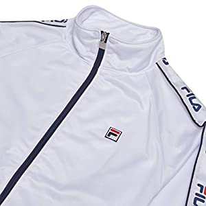 Fila Mens Jackets Outerwear Big and Tall Track Jacket Retro Jackets for Men