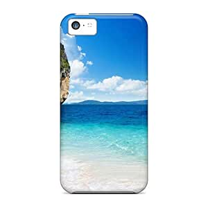 (Sty12337YhEj)durable Protection Cases Covers For Iphone 5c(rock Island Beach)