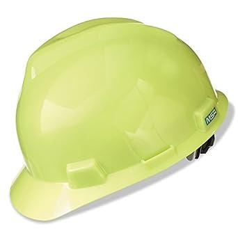 MSA 10061512 V-Gard tapas protectoras y sombreros, FAS-TRAC trinquete, Hi