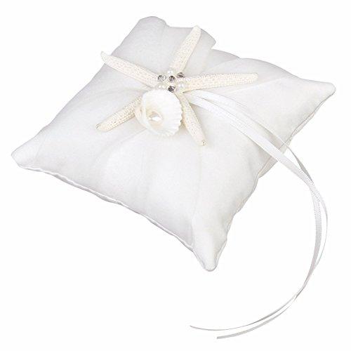 amazon taloyer wedding ceremony seashell ring pillow bearer Pillow Packaging Equipment amazon taloyer wedding ceremony seashell ring pillow bearer cushion beach wedding ring holder arts crafts sewing