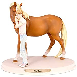 Enesco Horse Whispers First Love Figurine, 6-Inch