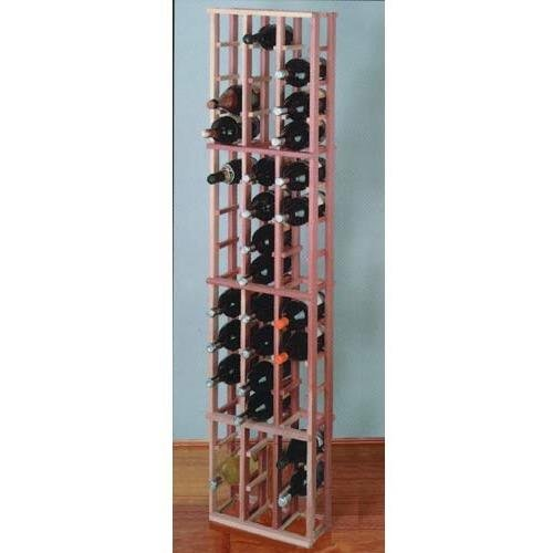 Wine Cellar Innovations Premium Redwood 48 Individual Magnum Bottles - Individual Magnum Bottle Rack