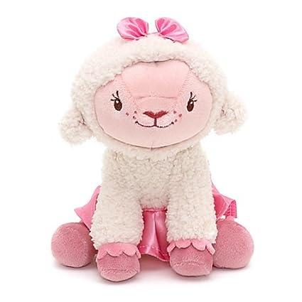 Amazon Com Disney Jr Doc Mcstuffins Lambie 7 Plush Toys Games