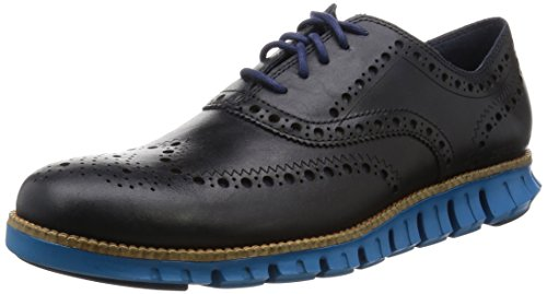 Cole Haan Men's Zerogrand Wing Oxford Marine Blue/Seaport 9 W US from Cole Haan
