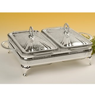 Queen Anne Double Casserole/Lids (Silver Plated)  sc 1 st  Amazon UK & Queen Anne Double Casserole/Lids (Silver Plated): Amazon.co.uk ...