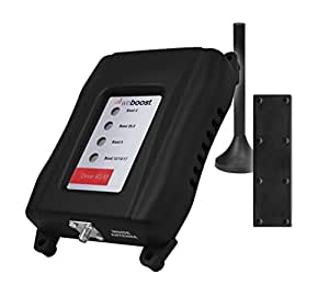 weBoost Drive 4G-M Cell Phone Signal Booster for Car, Truck and RV Use – Enhance Your Signal up to 32x. Can Cover up to 4 Devices.