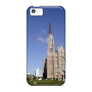 Waterdrop Snap-on Catedrallaplata Cases For Iphone 5c