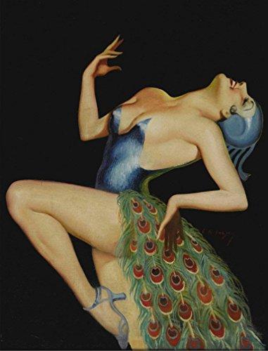 Peacock Dancer : Edward Mason Eggleston
