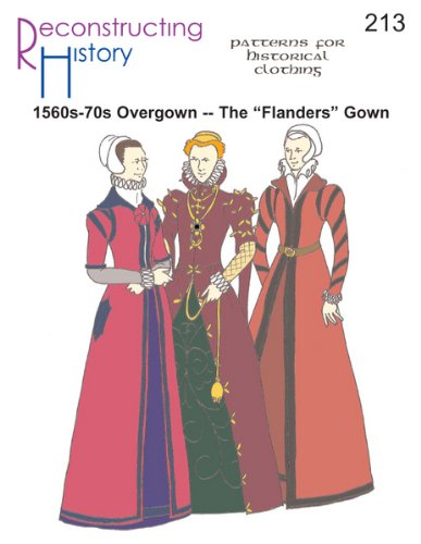 1560s-70s Flanders Gown Pattern -