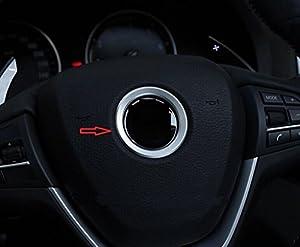 Steering Wheel Logo Trim for BMW X1 X3 X4 X5 X6 Z3 Z4 i3 i8 Z8