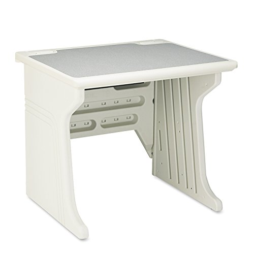 Iceberg ICE92203 Aspira Modular Desk, High-Density Plastic, 34