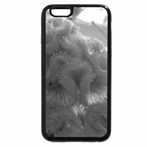 iPhone 6S Plus Case, iPhone 6 Plus Case (Black & White) - Strange Curls