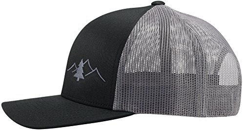 Review Lindo Trucker Hat – Great Outdoors Collection (Black/Graphite)